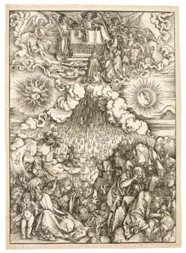 Albrecht Durer-The Opening Of The Fifth And Sixth Seal (B. 65; M., Holl. 168)-1497