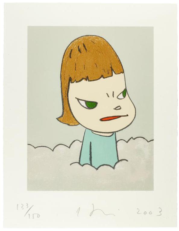 Yoshitomo Nara-In The Clouds-2003