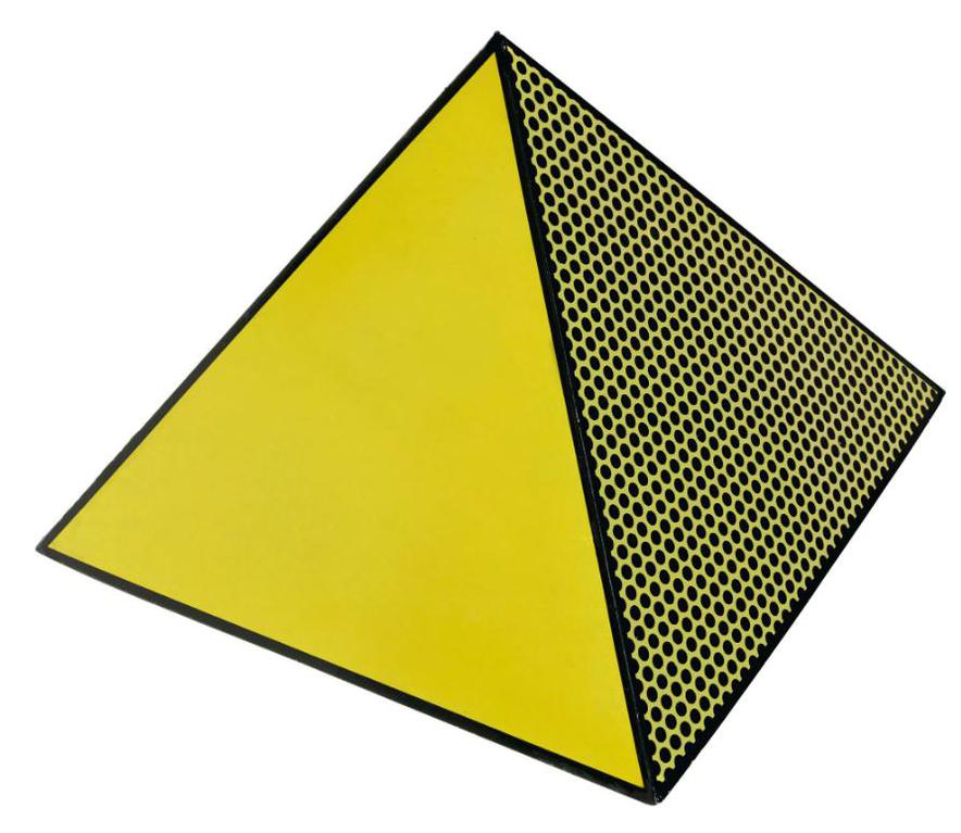 Roy Lichtenstein-Pyramid (Corlett 62)-1968