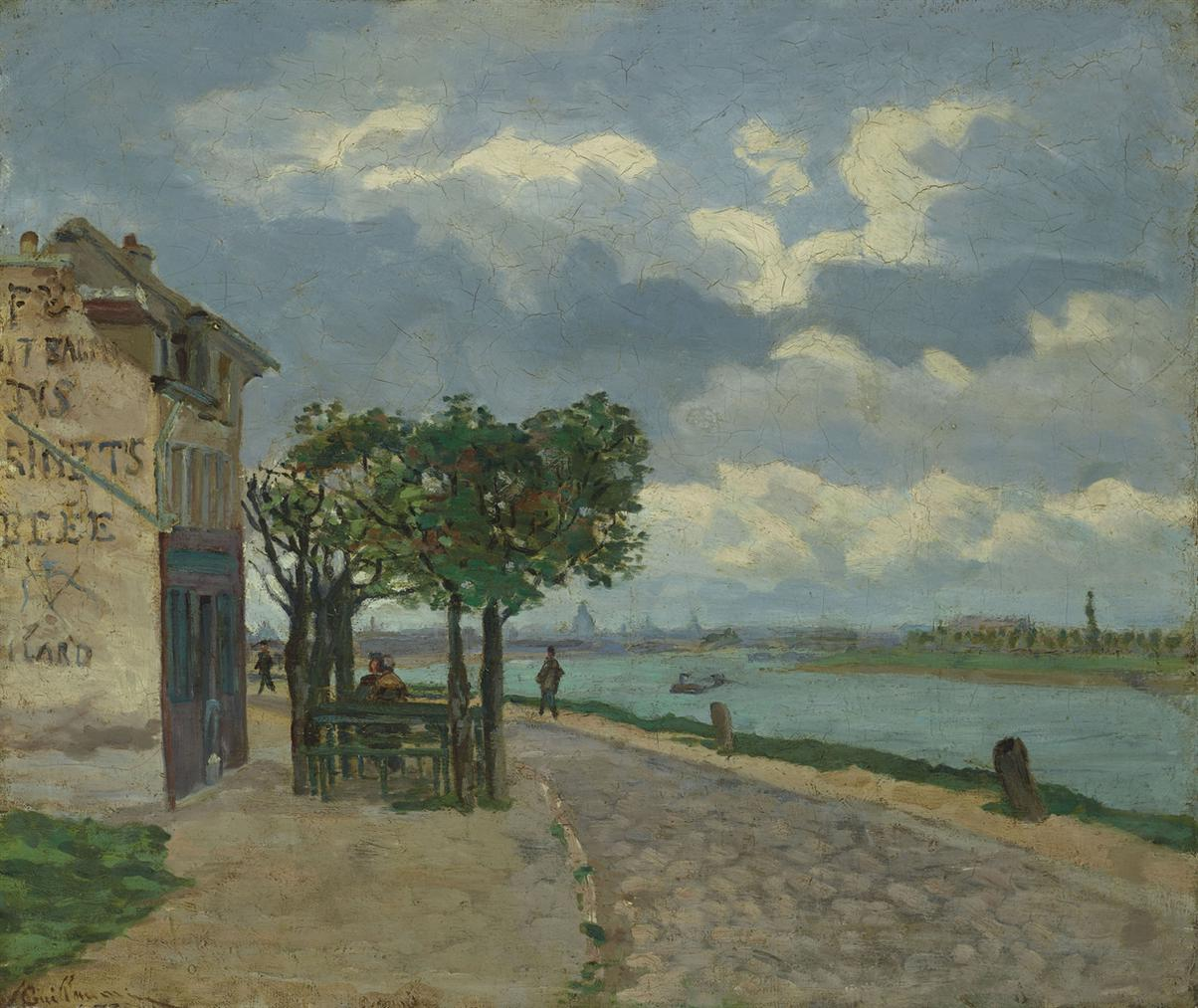 Jean-Baptiste Armand Guillaumin-Bords De La Seine-1873