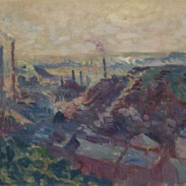 Maximilien Luce-La Vallee Industrielle De La Sambre-1899