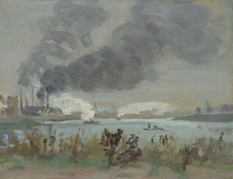 Jean-Baptiste Armand Guillaumin-La Seine A Ivry-1870