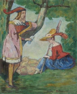 Emile Bernard-Scene Champetre-1889