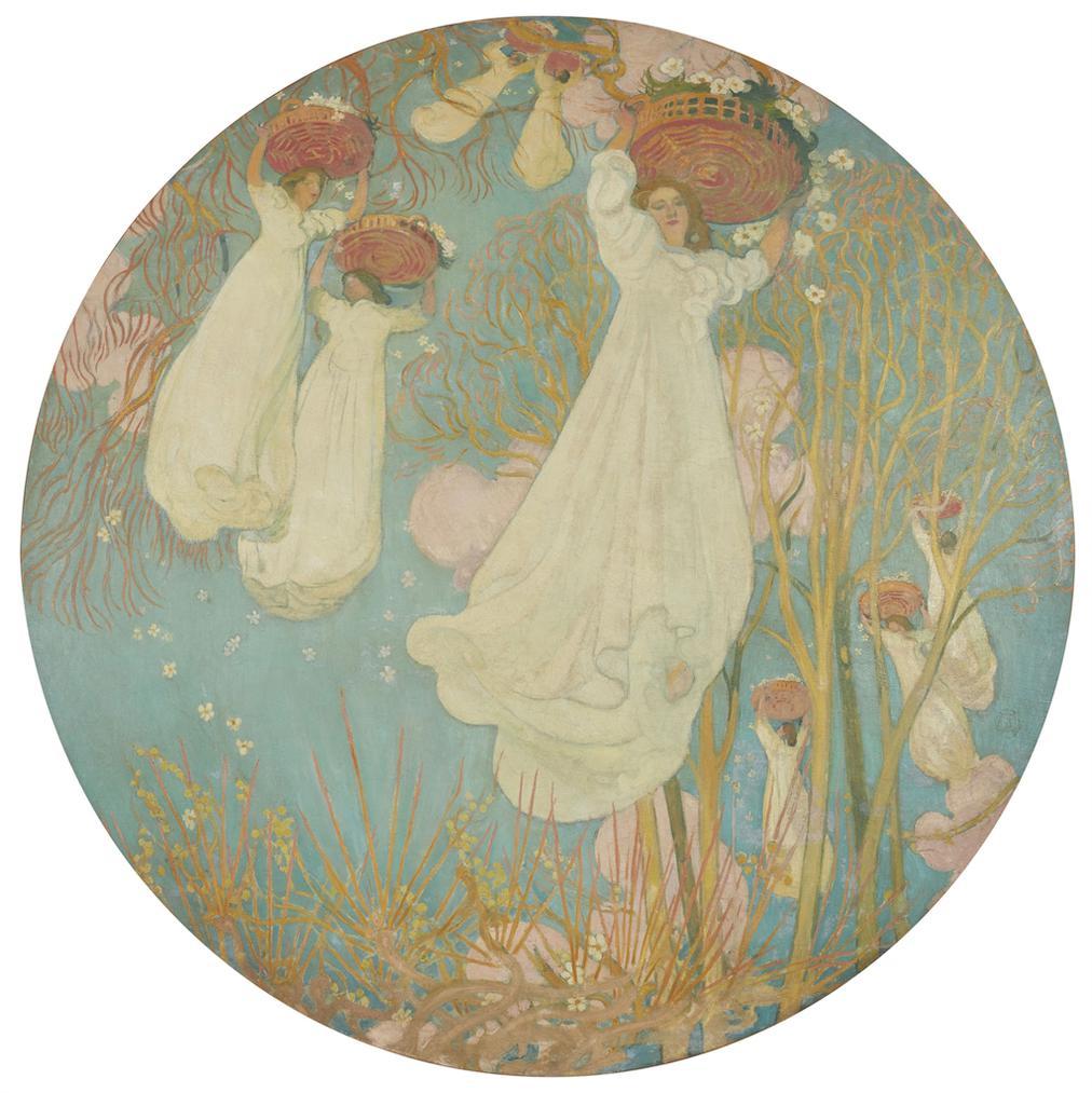 Maurice Denis-Avril (Plafond Pour Ernest Chausson)-1894