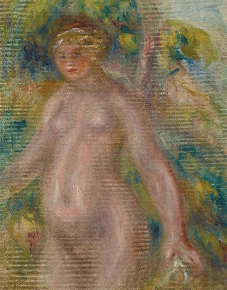 Pierre-Auguste Renoir-Nu Debout-1910