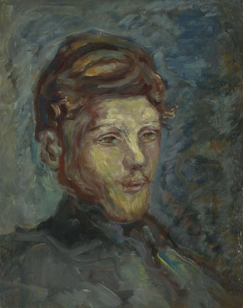 Pierre Bonnard-Tete De Jeune Homme Barbu-1903