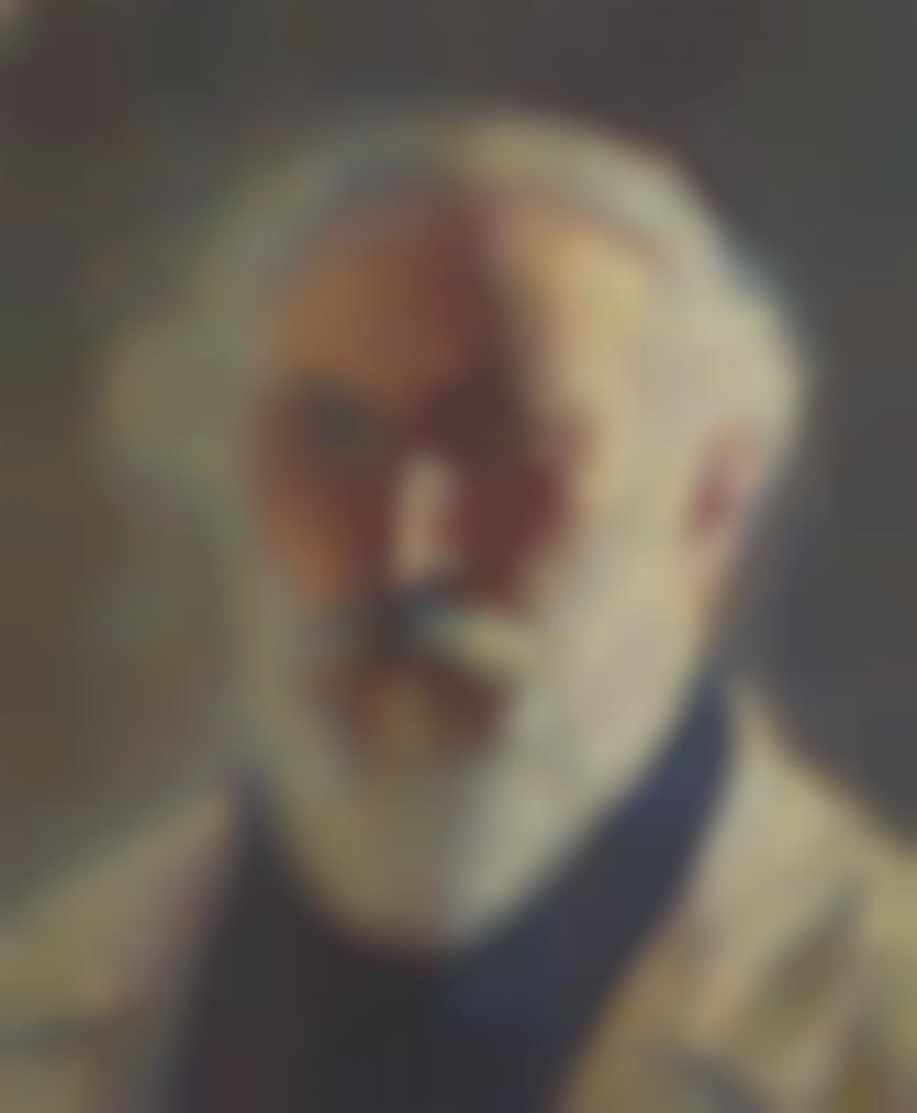 Henri Martin-Autoportrait A La Barbe Blanche-