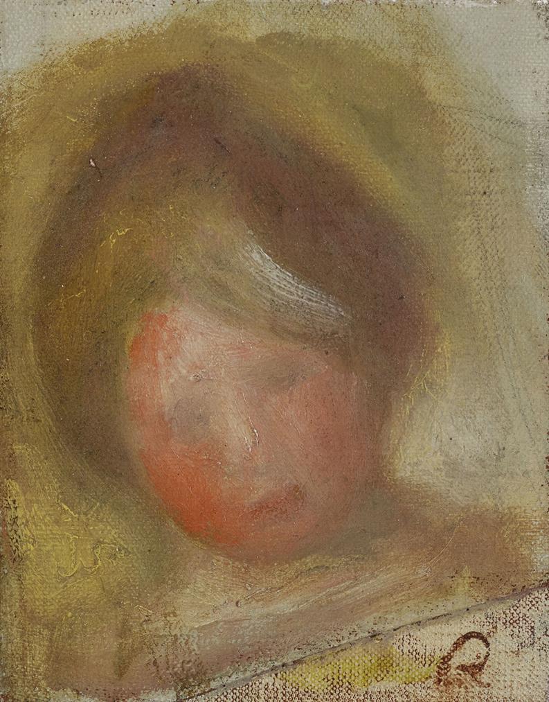 Pierre-Auguste Renoir-Esquisse De Tete-1898