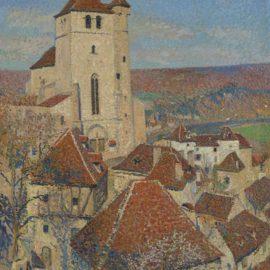 Henri Martin-Saint-Cirq Lapopie-1926