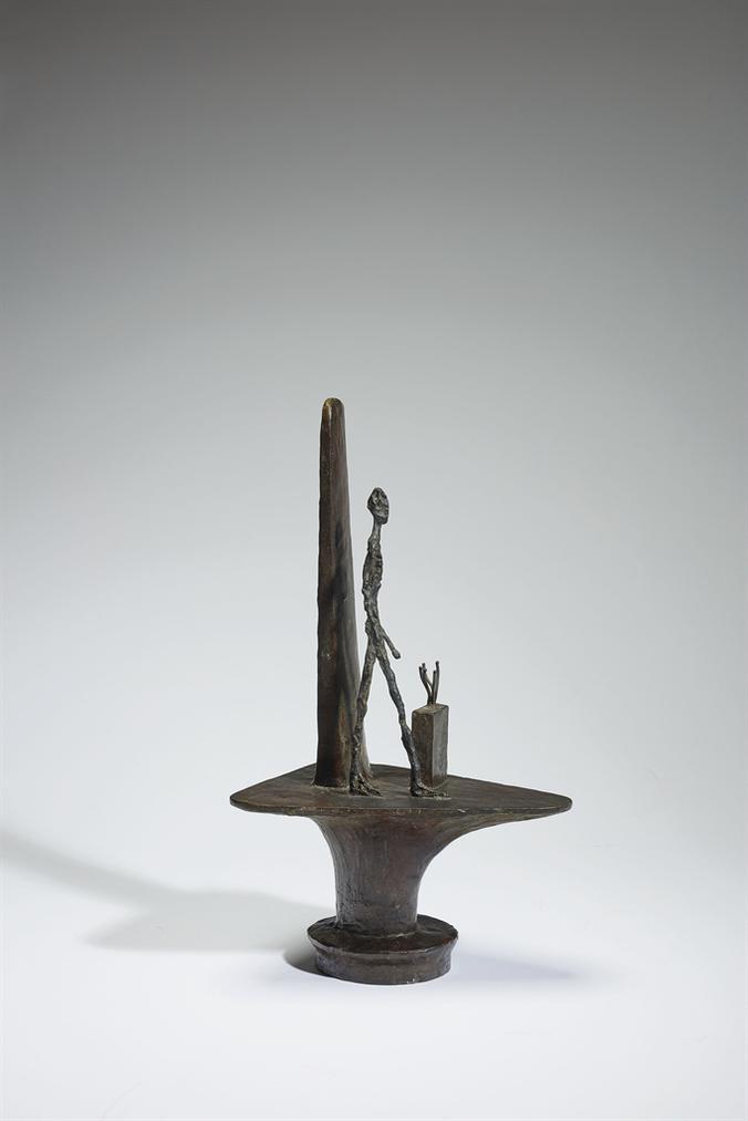 Alberto Giacometti-Projet Pour Un Monument A La Memoire De Gabriel Peri (Piedestal Par Paul Nelson)-1946