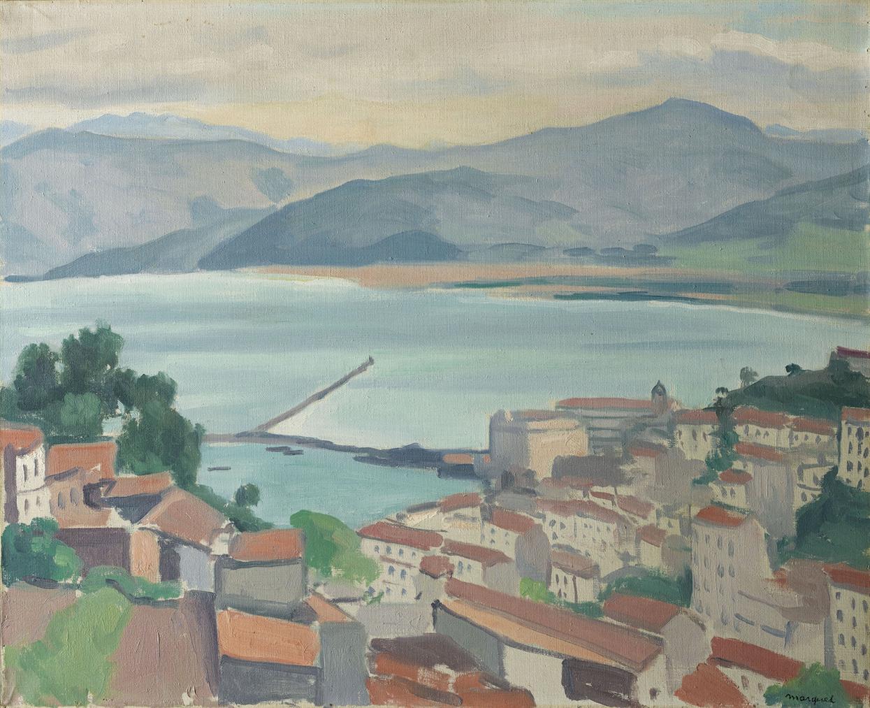 Albert Marquet-La Ville Par Temps Clair-1925