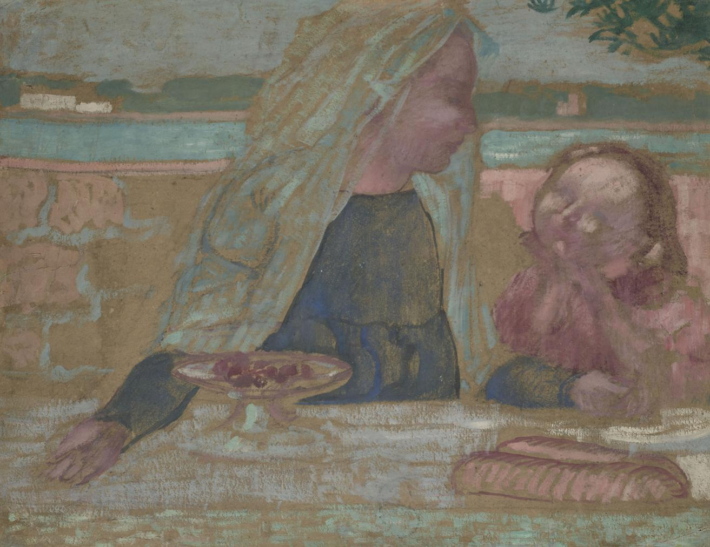 Maurice Denis-Vierge Aux Cerises-1901