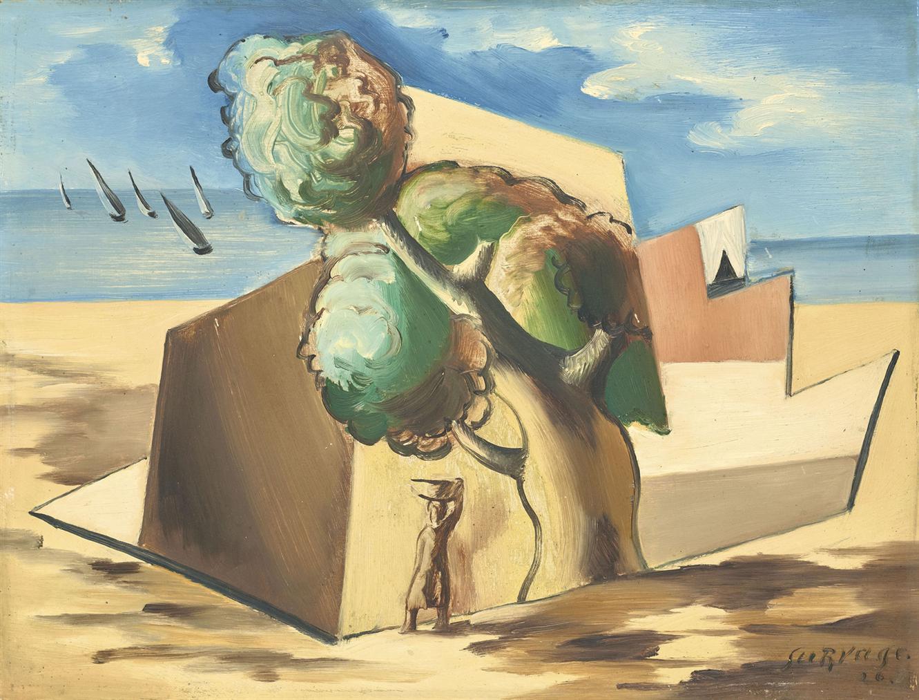 Leopold Survage-Regates A Collioure-1926