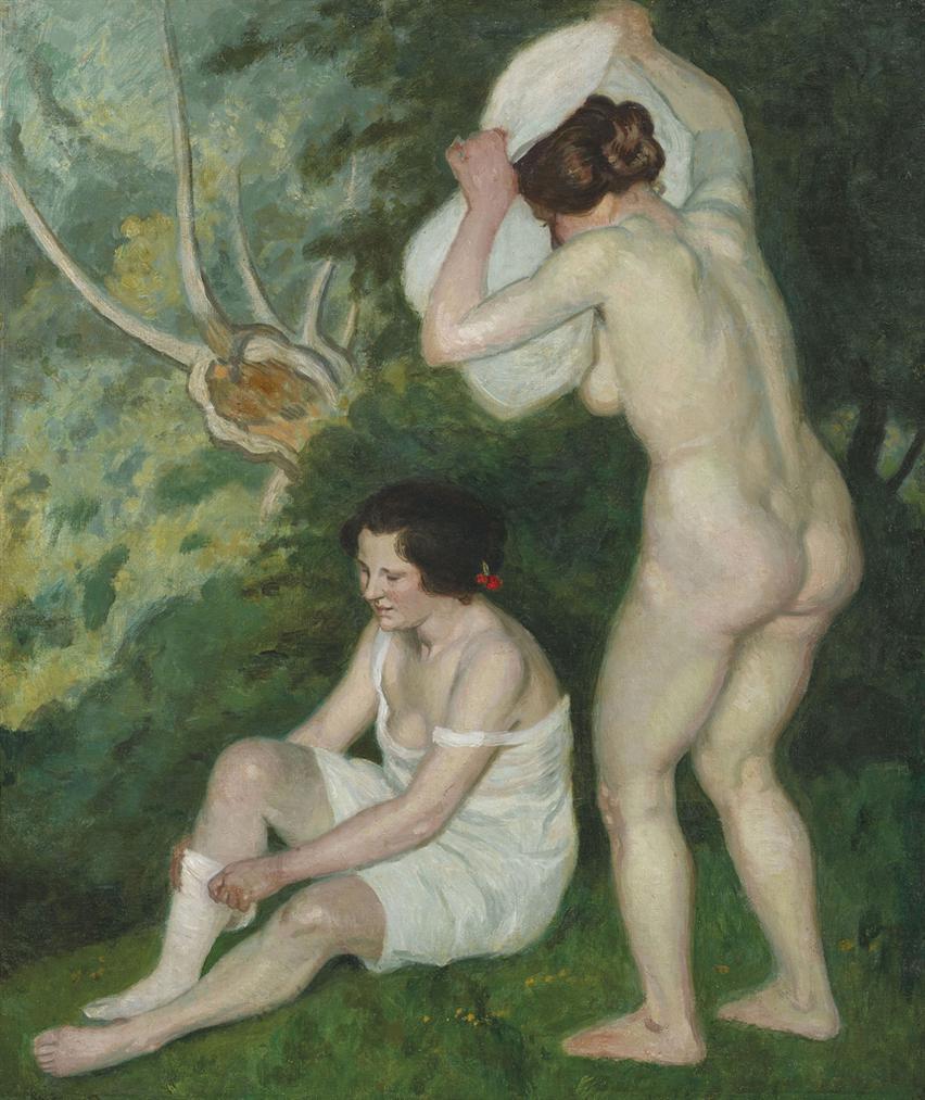 Louis Anquetin-Deux Baigneuses-1892