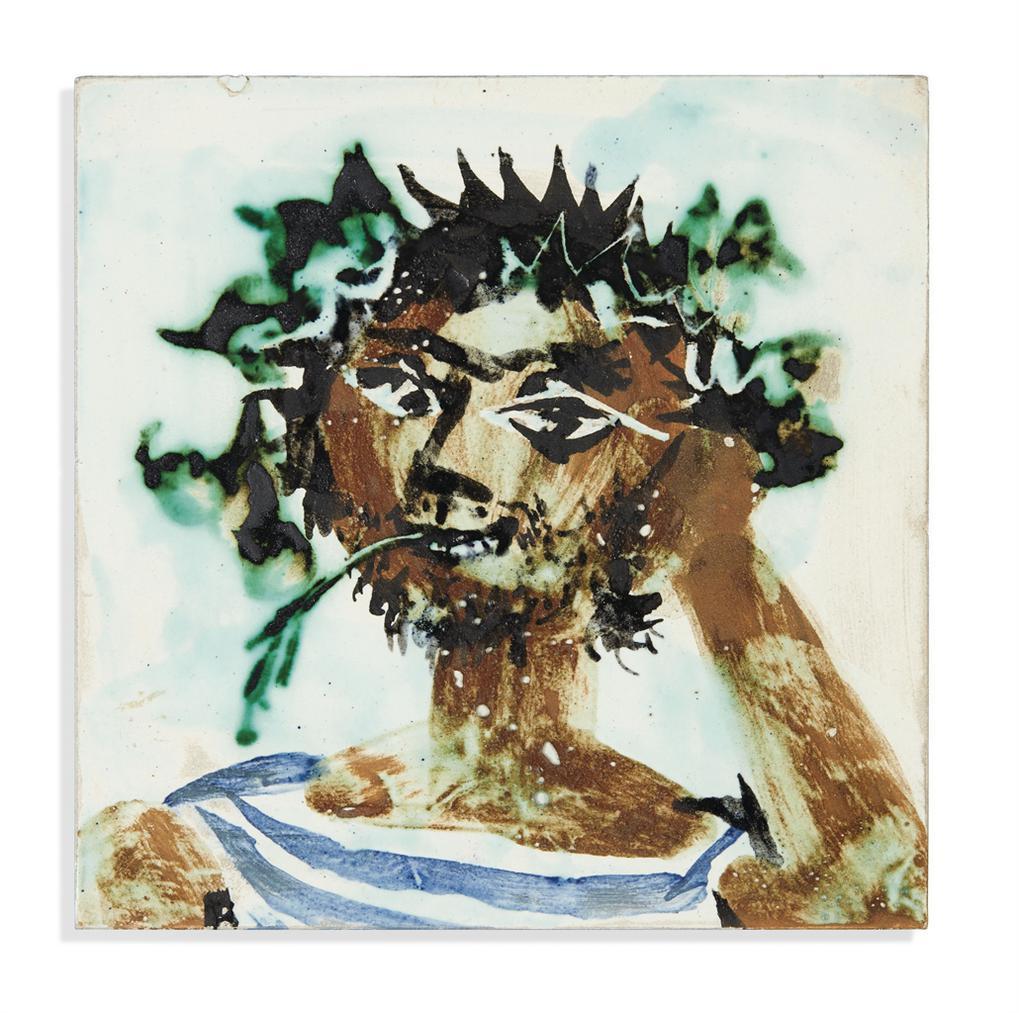 Pablo Picasso-Faune-1956