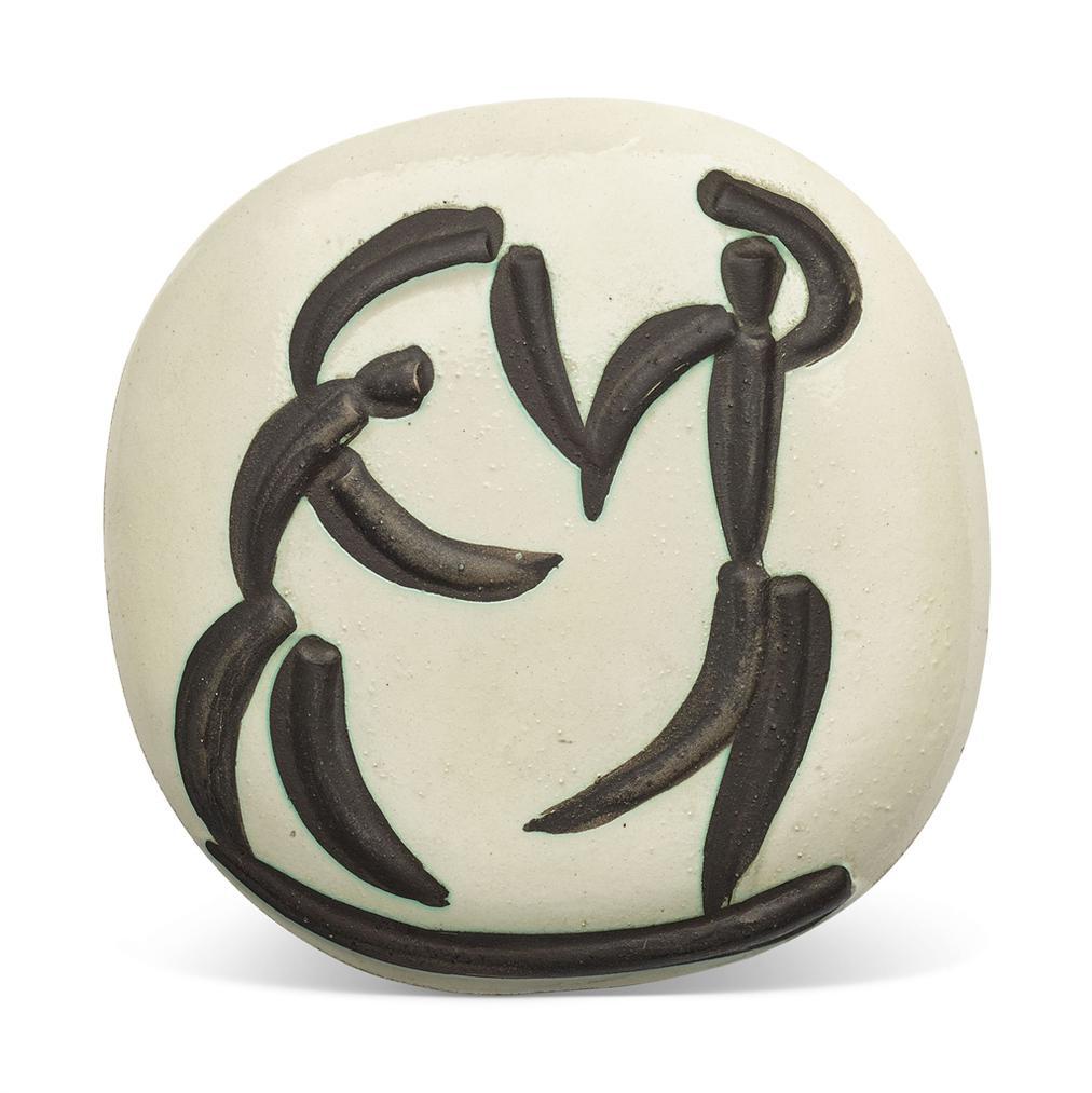 Pablo Picasso-Danseurs (A.R. 387)-1956