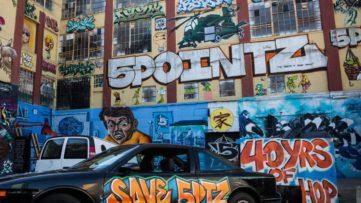NYC Graffiti Mecca - Image via huffpost.com