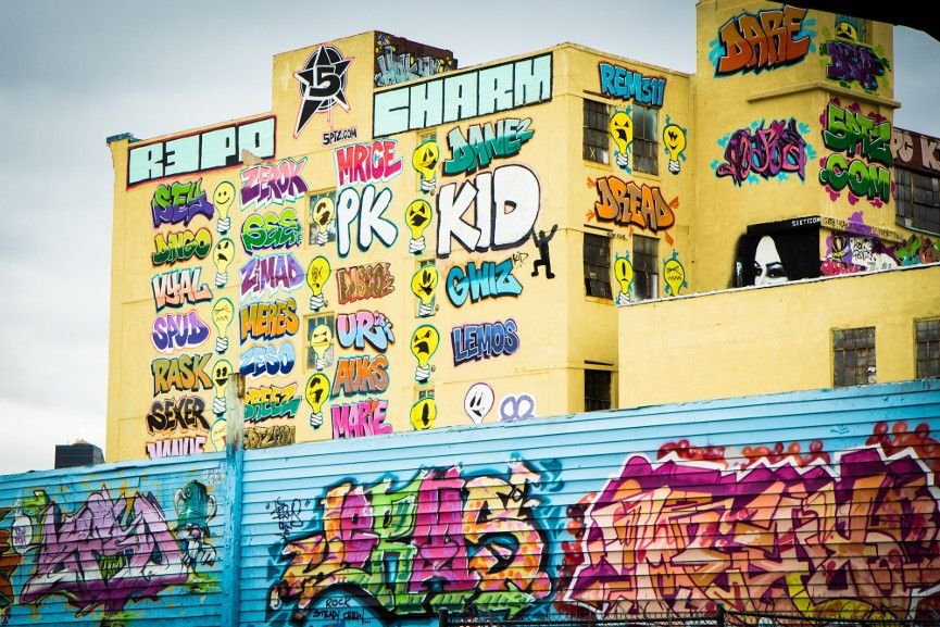 5 Pointz graffiti art (Dec 2012) - Image via zazenlifecom