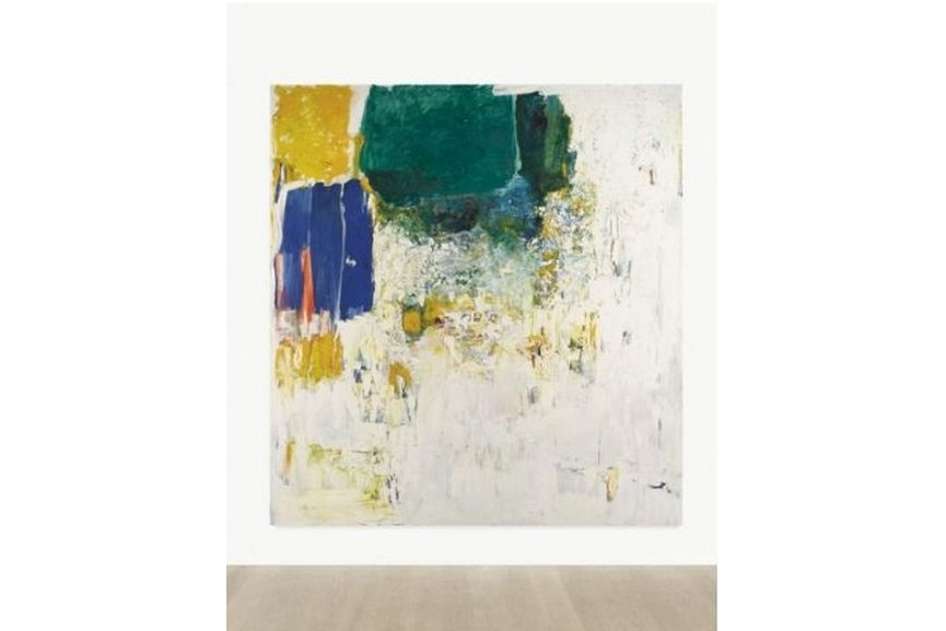 joan mitchell paint kooning school expressionism