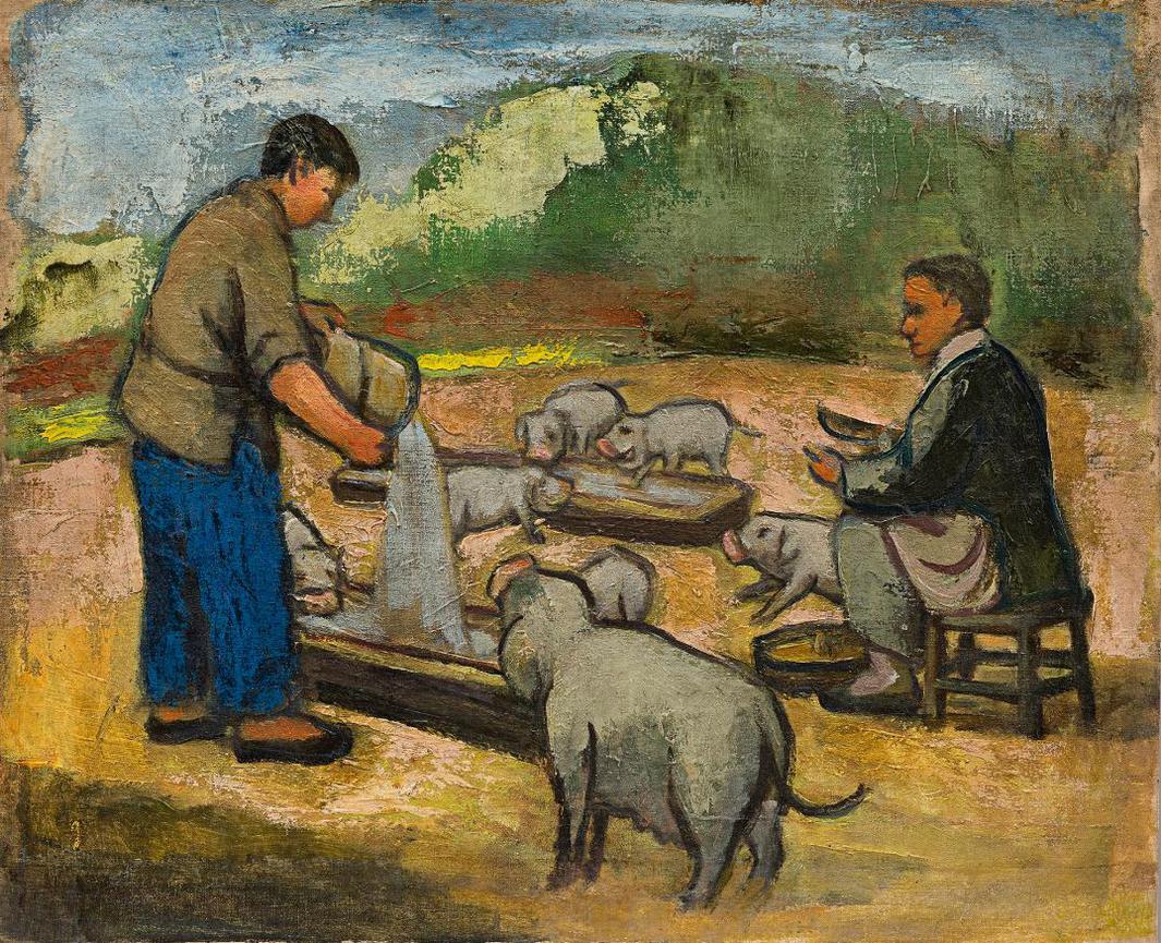 Guan Liang-Swineherd-1965