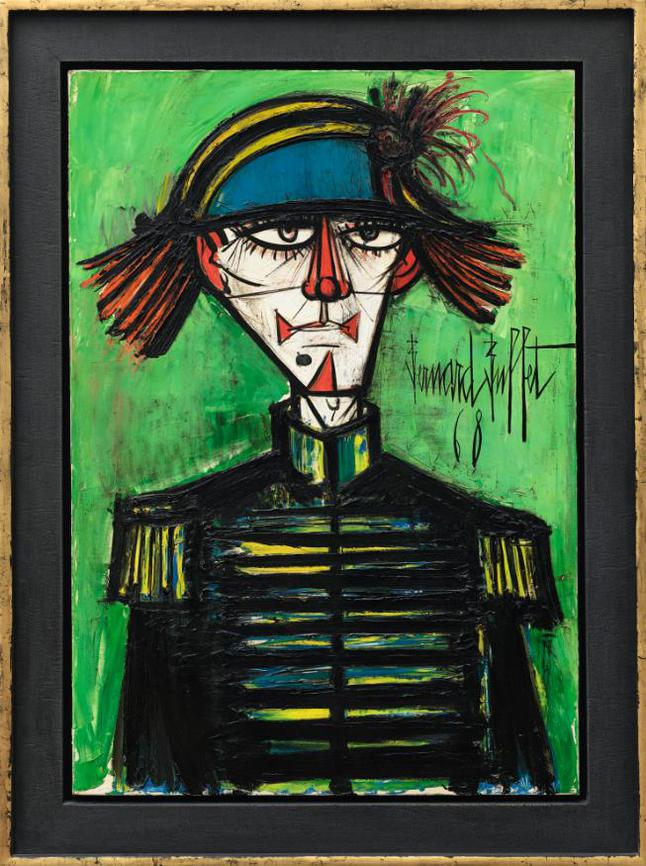 Bernard Buffet-Clown-1968