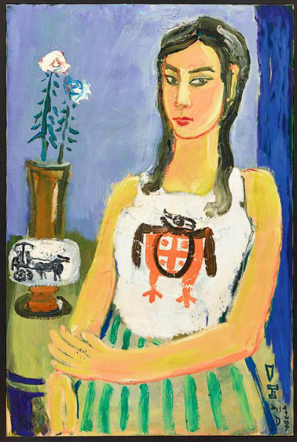 Ding Yanyong-Seated Lady-1975