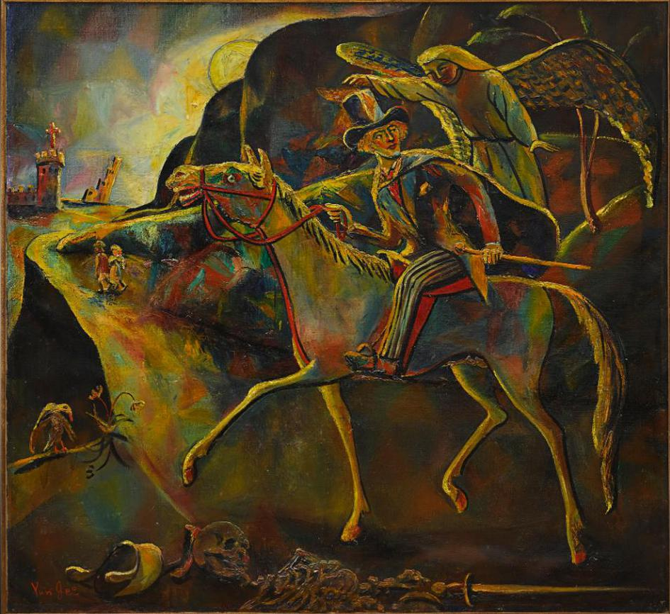 Yun Gee-Right Route To Freedom-1947