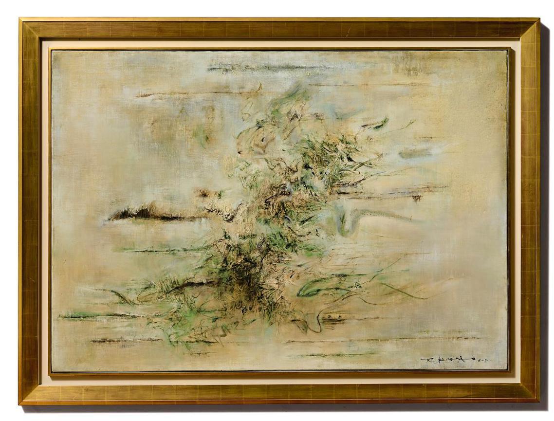 Zao Wou-Ki-Untitled-1958
