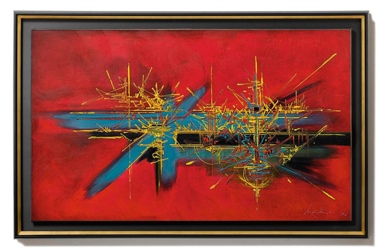 Georges Mathieu-La Passion Retrouvee-1976