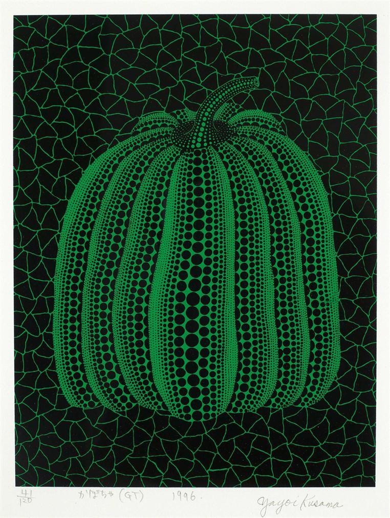 Yayoi Kusama-Pumpkin (Gt)-1996
