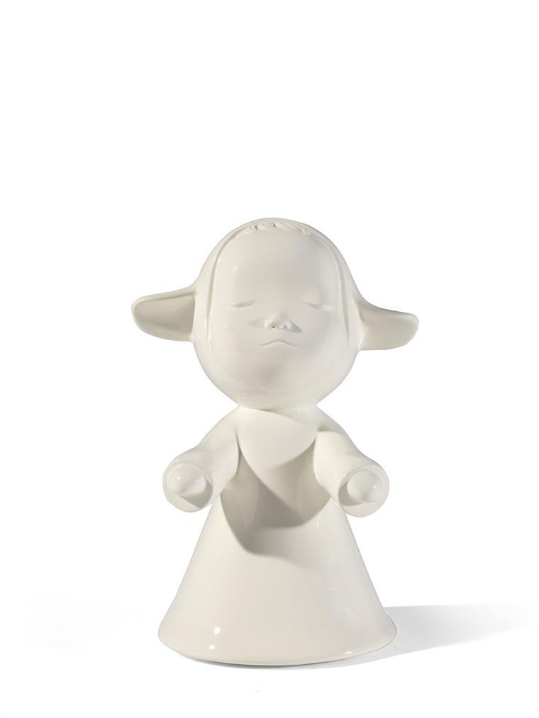 Yoshitomo Nara-The Little Pilgrim (Night Walking)-2002