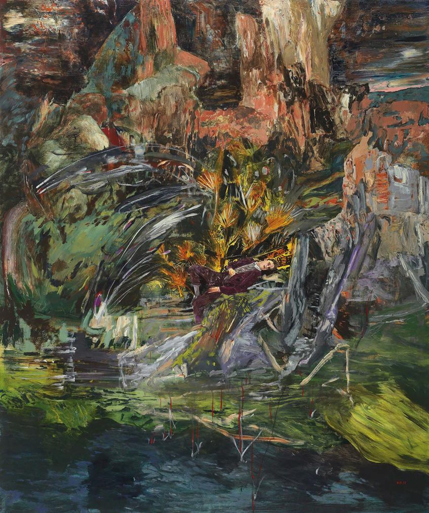 Hernan Bas-A Flaming Creature (Or, The Sound Of Music)-2011