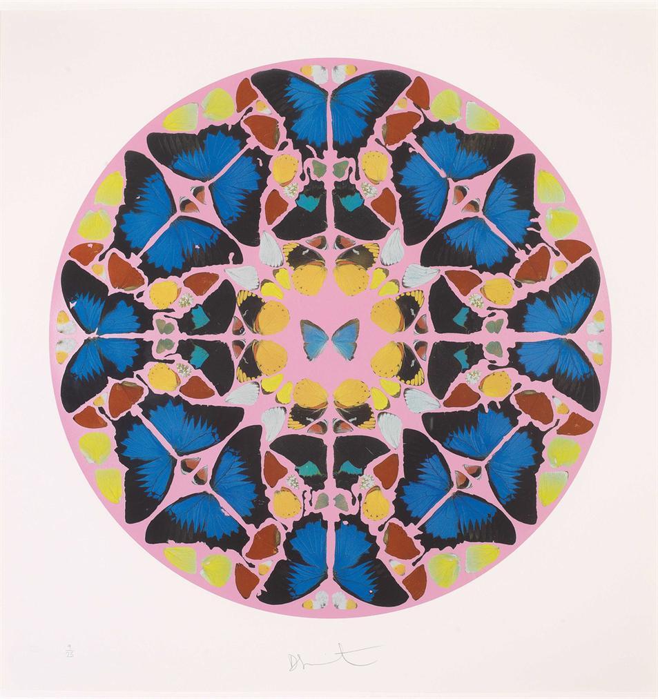 Damien Hirst-Coeli Enarrant, From Psalm Print-2010