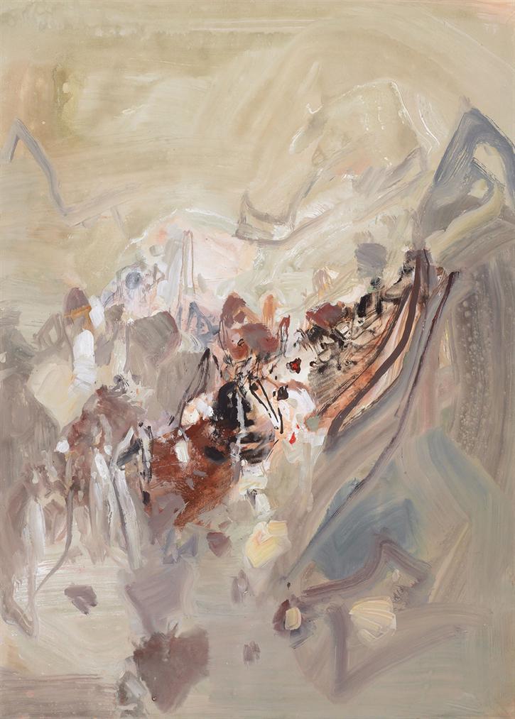 Chu Teh-Chun-Composition-1990