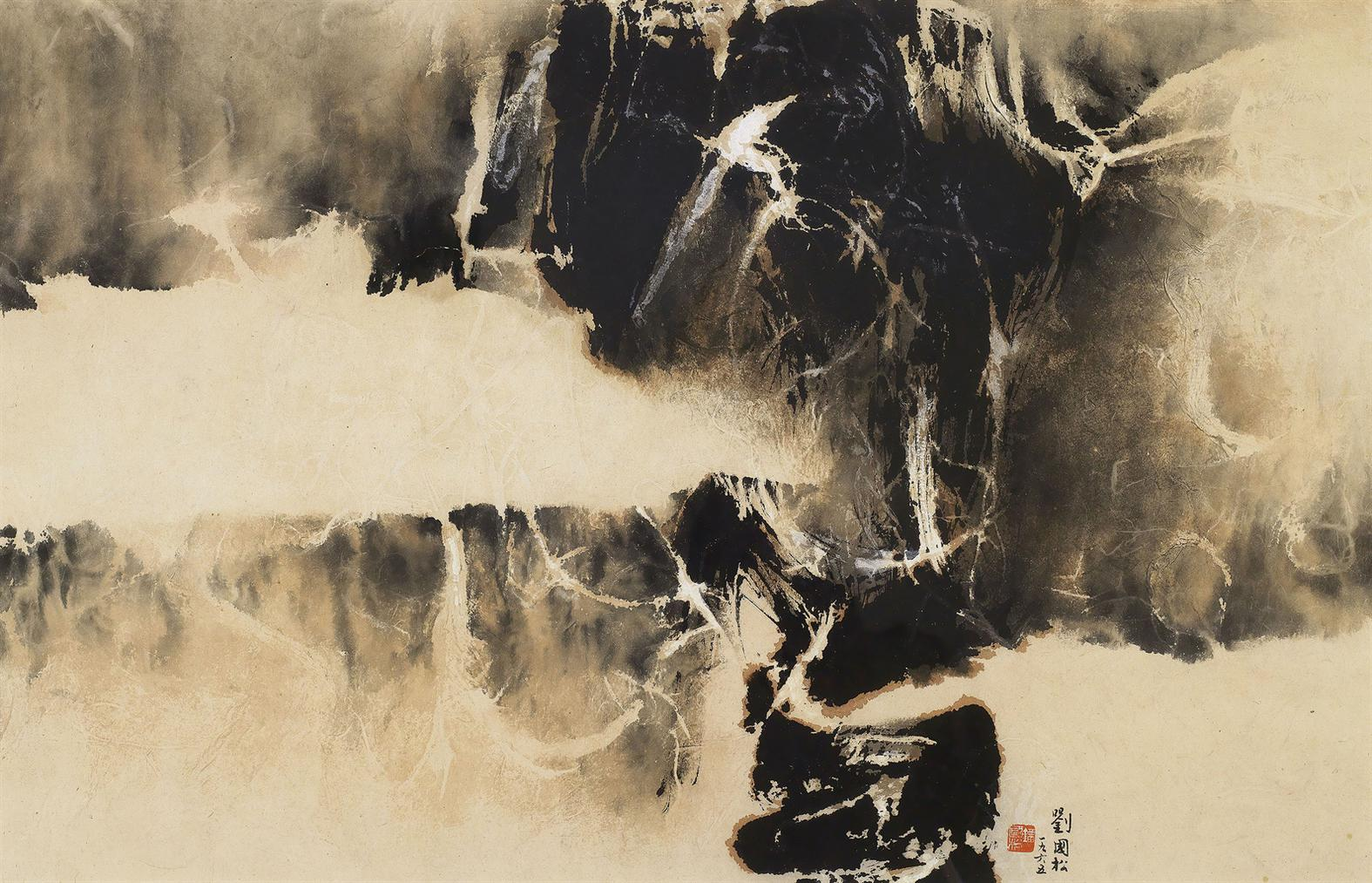 Liu Kuo-Sung-Snow In The Forest-1965
