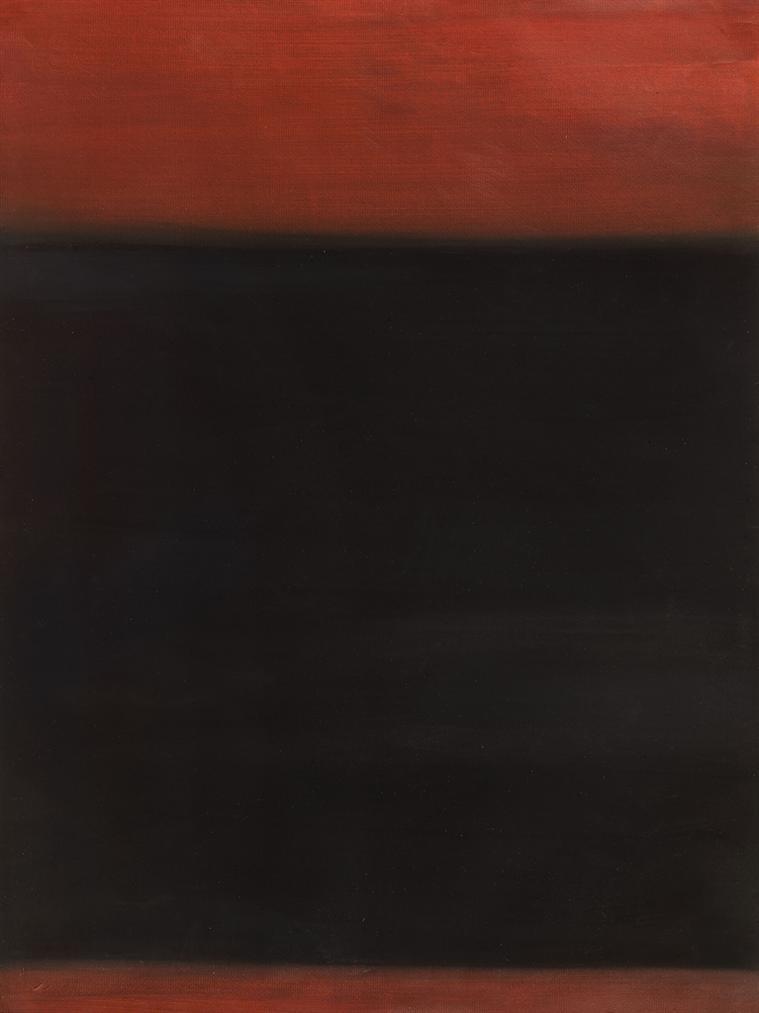 Richard Lin-Crimson Lake With Black Summer-1958
