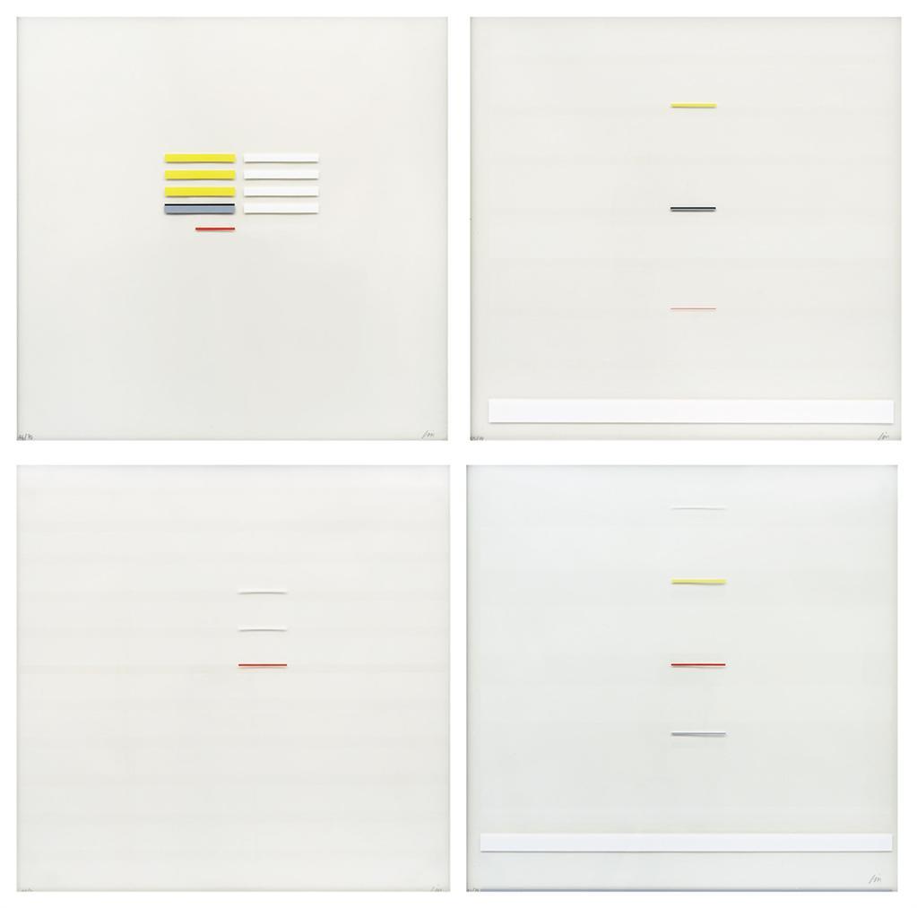 Richard Lin-May Series (May 1; May 2; May 3;& May 4)-1971