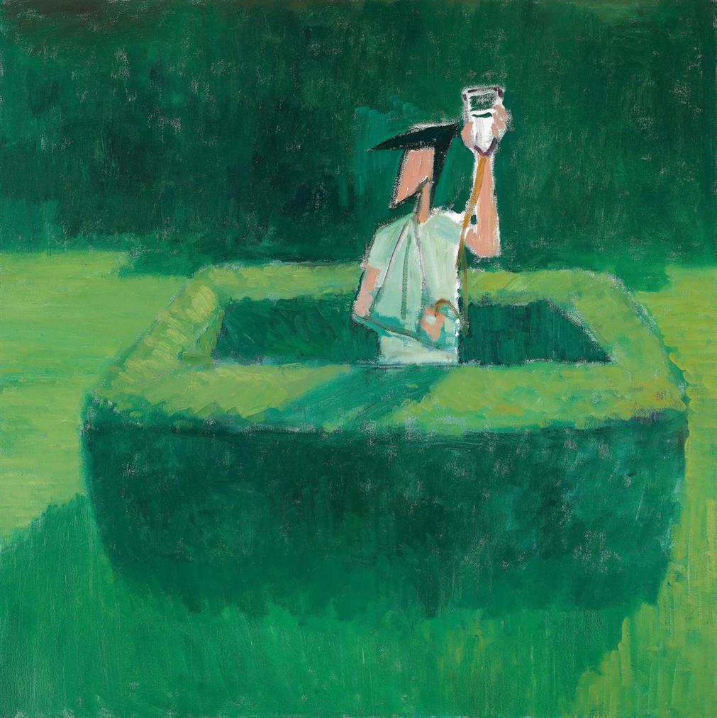 Wang Xingwei-Untitled (Intravenous Bottle)-2007
