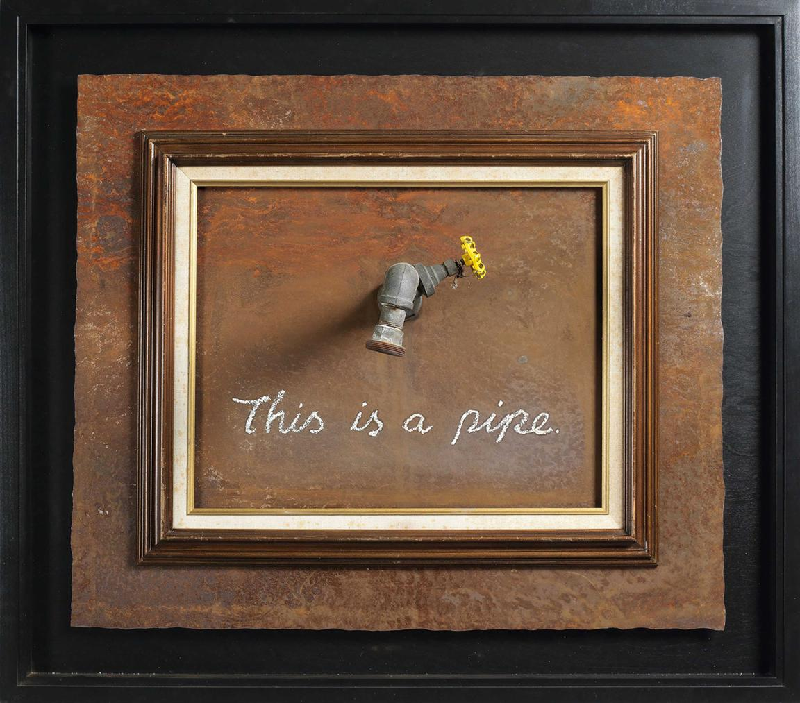 Banksy-This Is A Pipe-2011