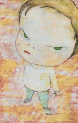 Yoshitomo Nara-Slash With A Knife-1998