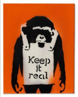 Banksy-Keep It Real-2001