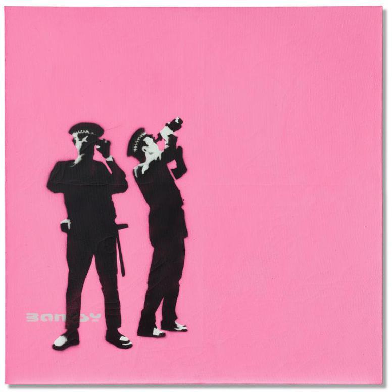 Banksy-Avon And Somerset Constabulary-2001