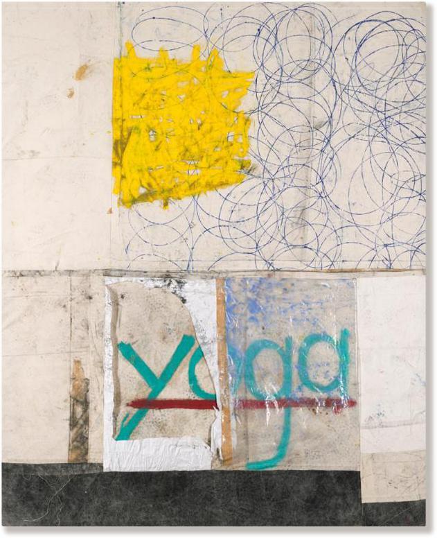 Oscar Murillo-Matt Painting (Yoga)-2013