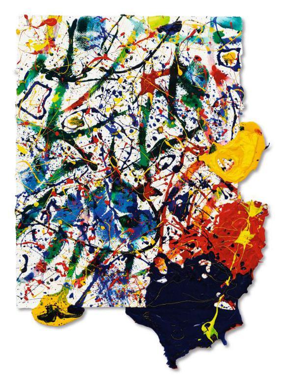 Sam Francis-Untitled-1991