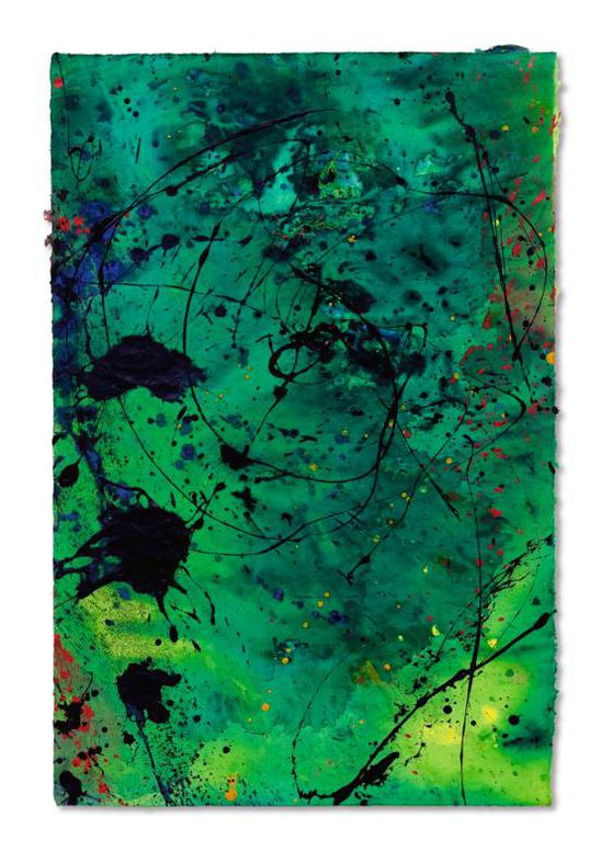 Sam Francis-Under The Mountain-1990