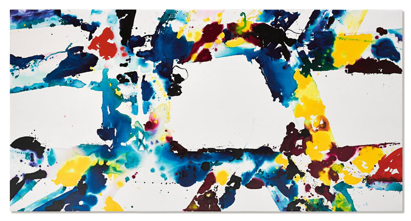 Sam Francis-Untitled-1974