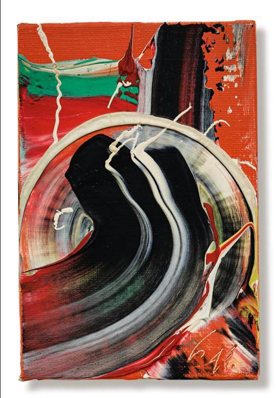 Kazuo Shiraga-Untitled-