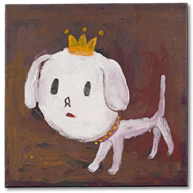 Yoshitomo Nara-Dog-1991