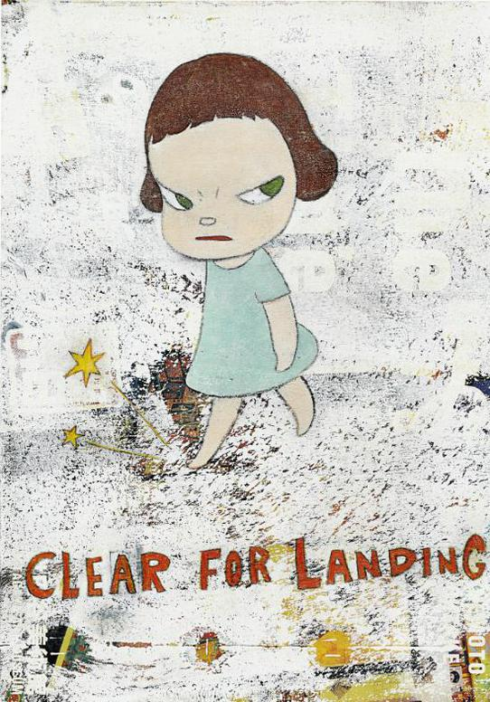 Yoshitomo Nara-Clear For Landing-2001