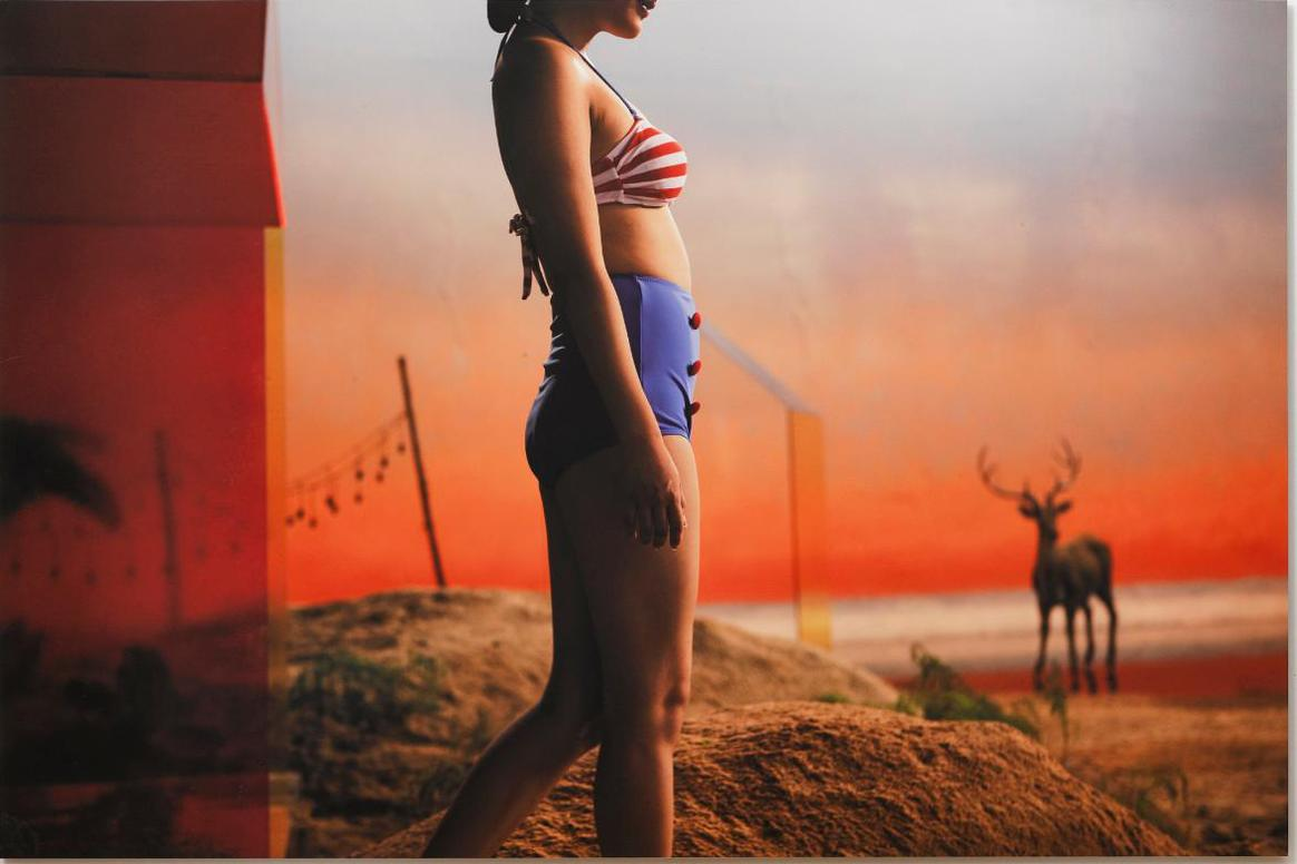 Yang Fudong-The Coloured Sky: New Women II, 3-2014